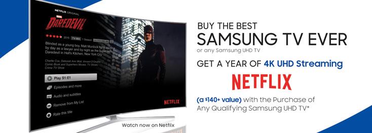 Get 1 Year of Netflix!