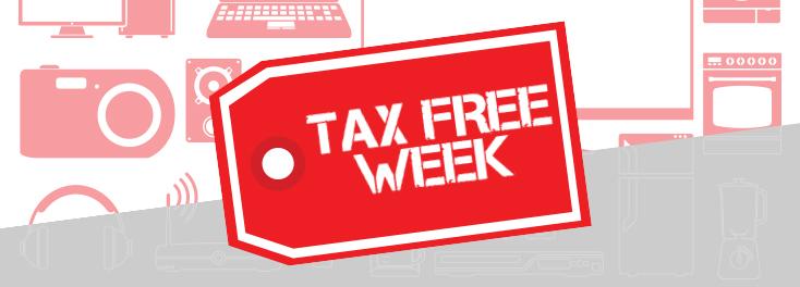 Tax Free Week is Back!