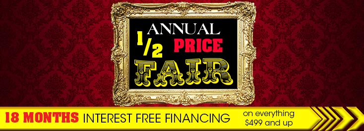 Annual Half Price Fair