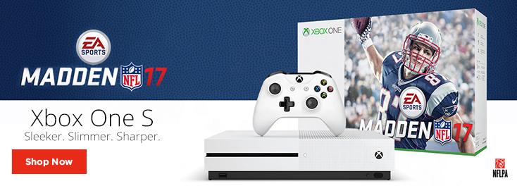 Xbox One S Madden NFL 17 Bundle