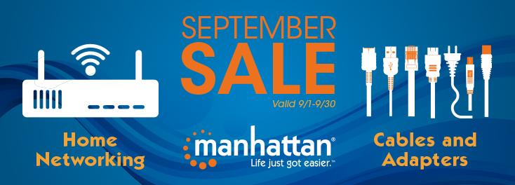 Manhattan September Sale