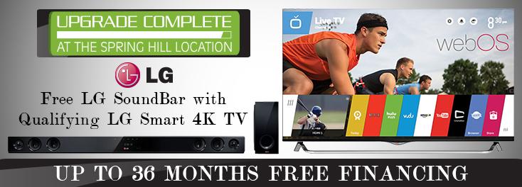 Free LG SoundBar