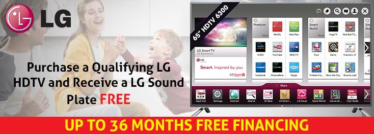 Free LG Soundplate