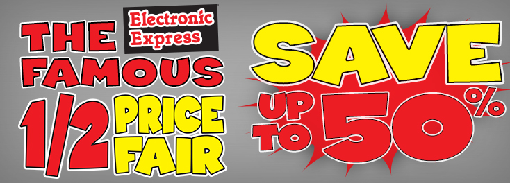 Half Price Fair is Back!