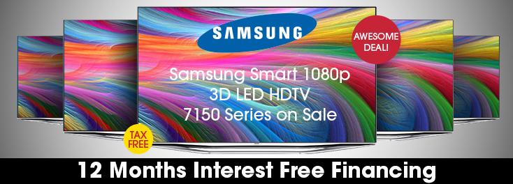 Save Big on Samsung H7150 Series TVs