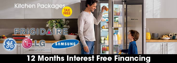 Get Tax Free on Kitchen Packages