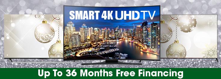 4K UHD TV's