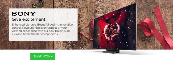 SONY 4K UHDTVs