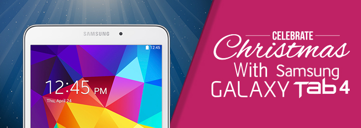 Galaxy Tab 4 is Here!
