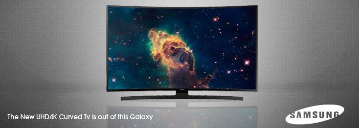 Samsung Curved UHD4K TV