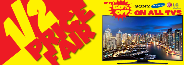 All Tvs Up to 50% Off