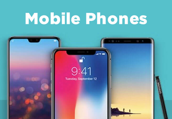 Cell Phones & Smart Watches Banner