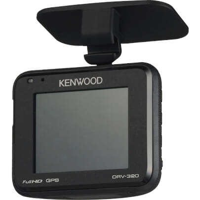 Kenwood DRV320 view 2