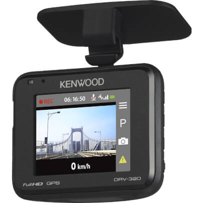 Kenwood DRV320 view 1