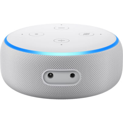 Amazon ECHODOT3WHT view 2