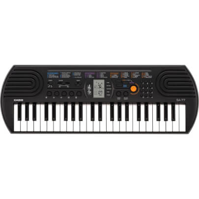 Casio SA77GRAY view 1