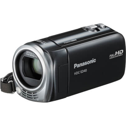Panasonic HDCSD40 view 2