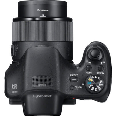 Sony DSCHX300 view 5