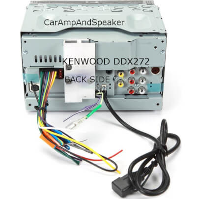 Kenwood DDX272 view 2
