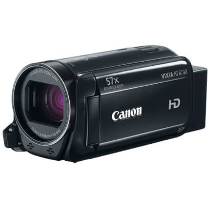 Canon HFR700BK view 1