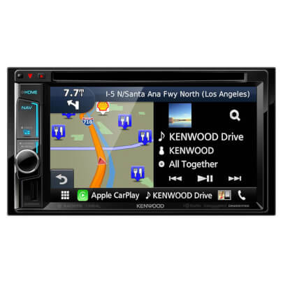 Kenwood DNX573 view 1