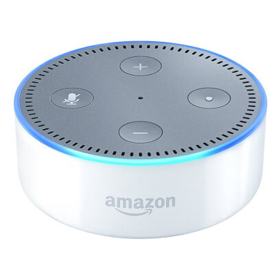 Amazon ECHODOTWHT view 1
