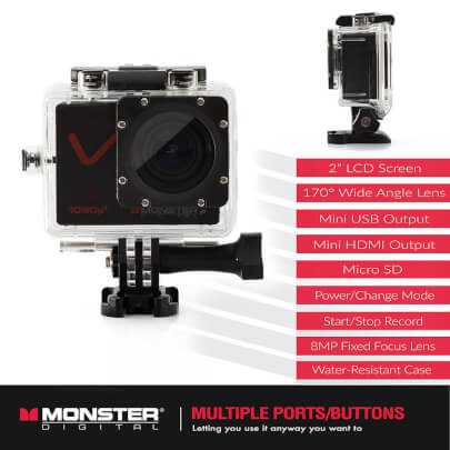 Monster CAMVP1080A view 5