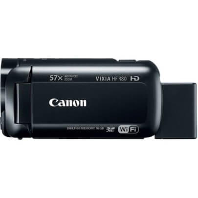 Canon HFR80 view 4