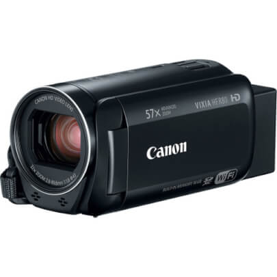Canon HFR80 view 1
