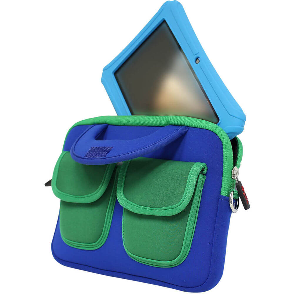 HighQ Case for 7 inch/8 inch Tablets - Blue/Green