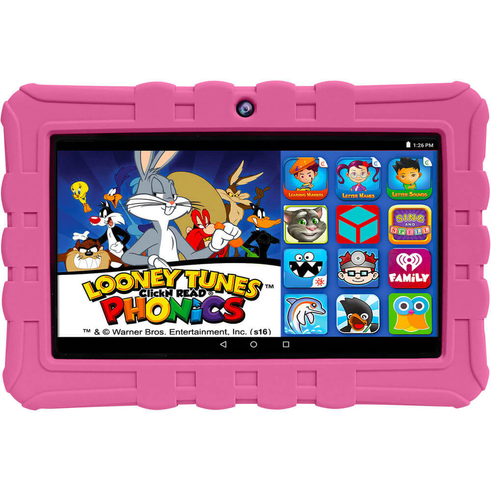 HighQ Learning Tab 7 inch 16GB Kids Tablet - Pink