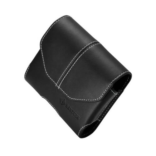 Universal 3.5 inch Premium Leather Carrying Case