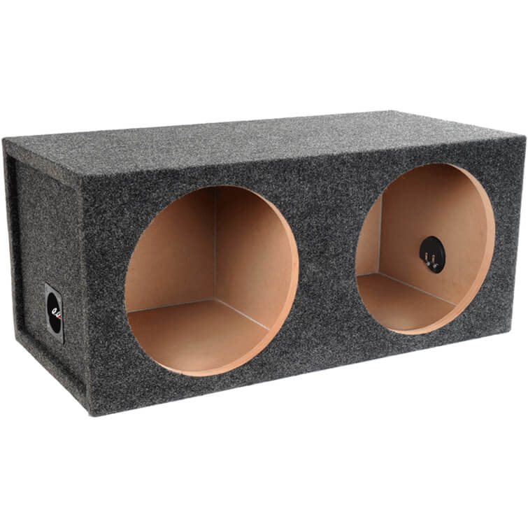 Dual 12 inch Sealed Subwoofer Box