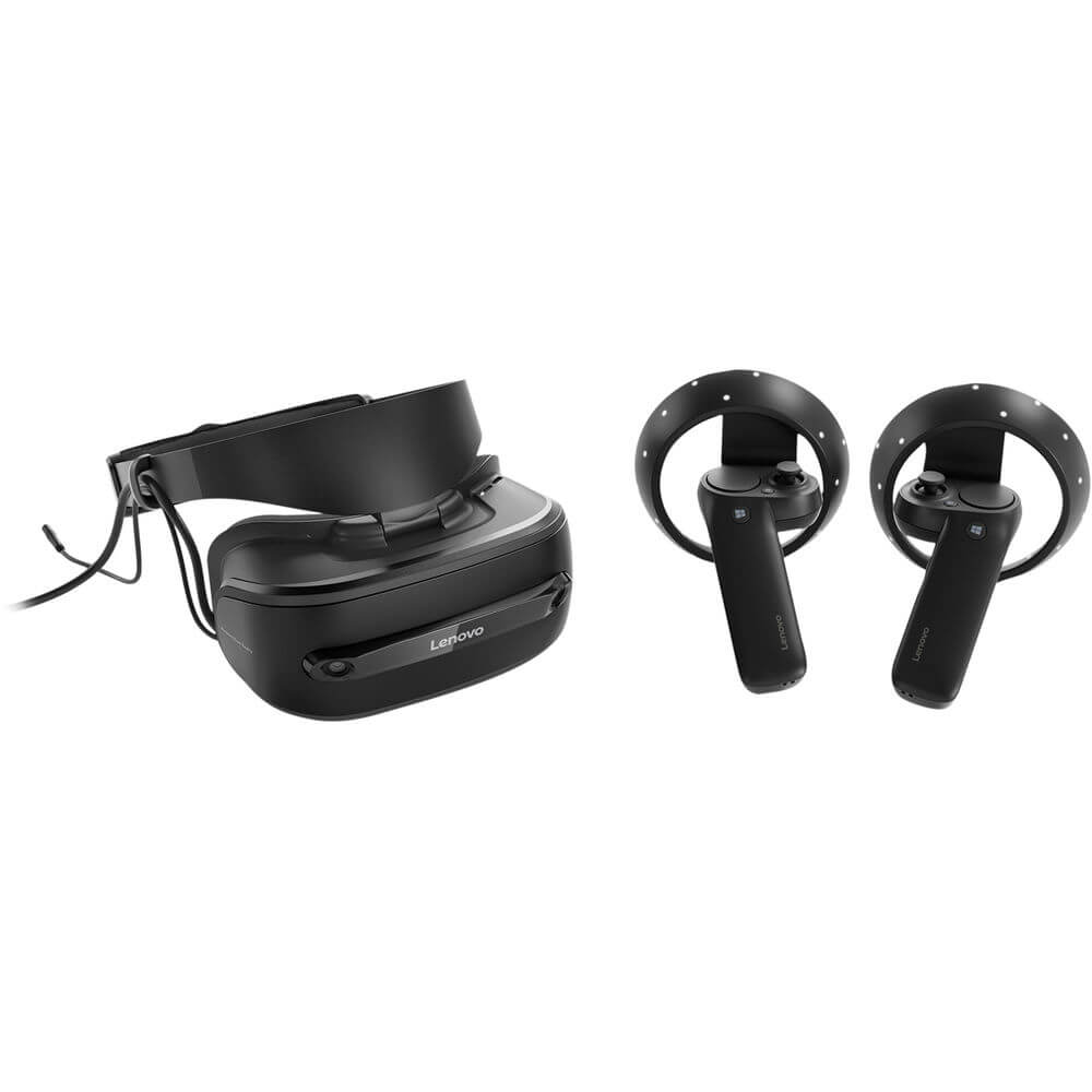 Explorer Mixed Reality Headset + Motion Controllers