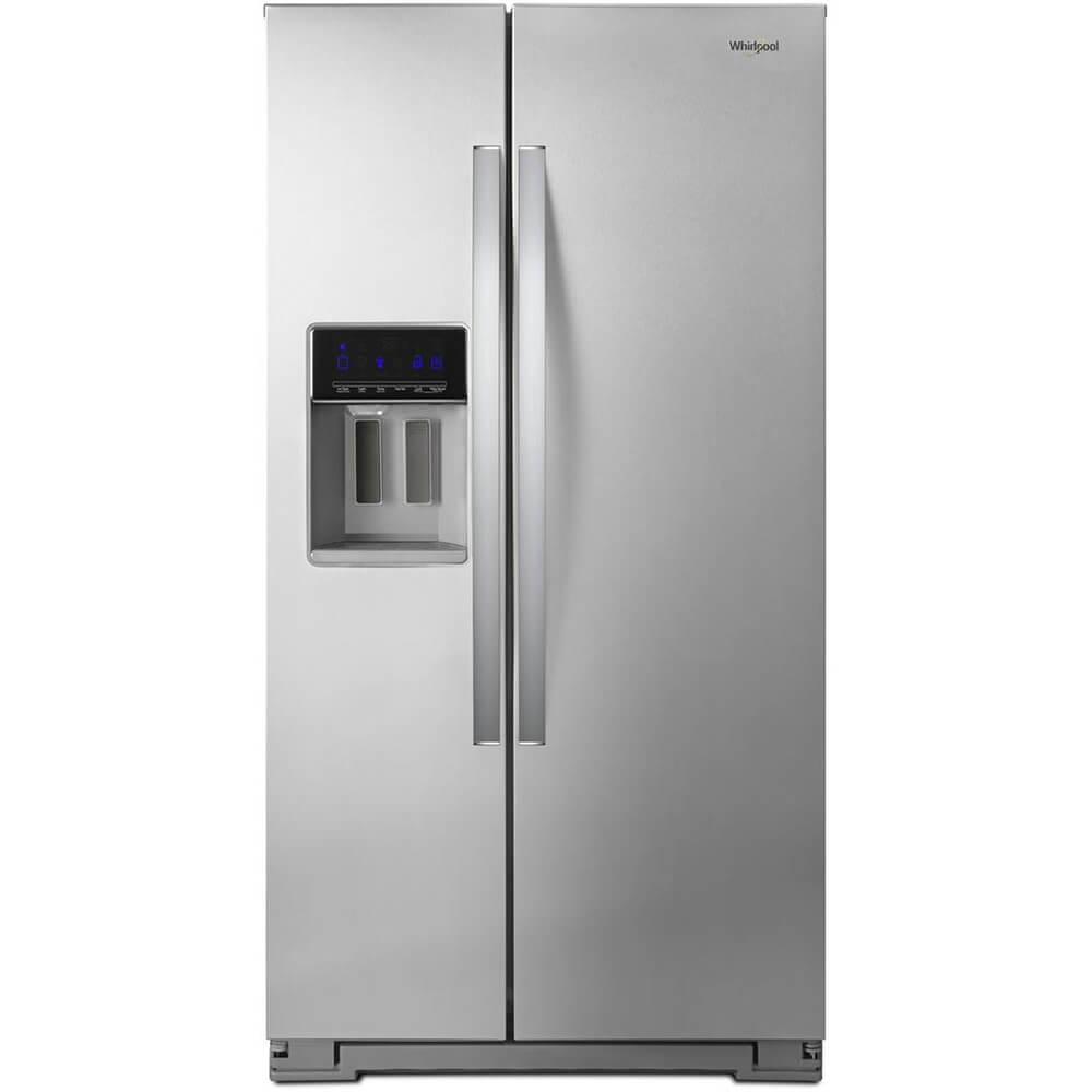 21 Cu. Ft. Stainless Counter Depth Side-by-Side Refrigerator