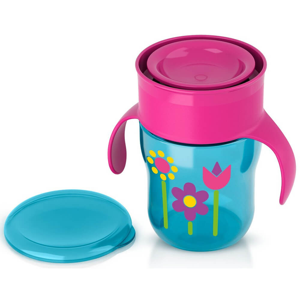 Avent My First Big Kid Cup - Pink/Blue