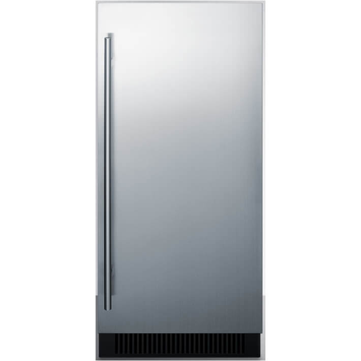 15 inch Stainless Under Counter Ice Maker