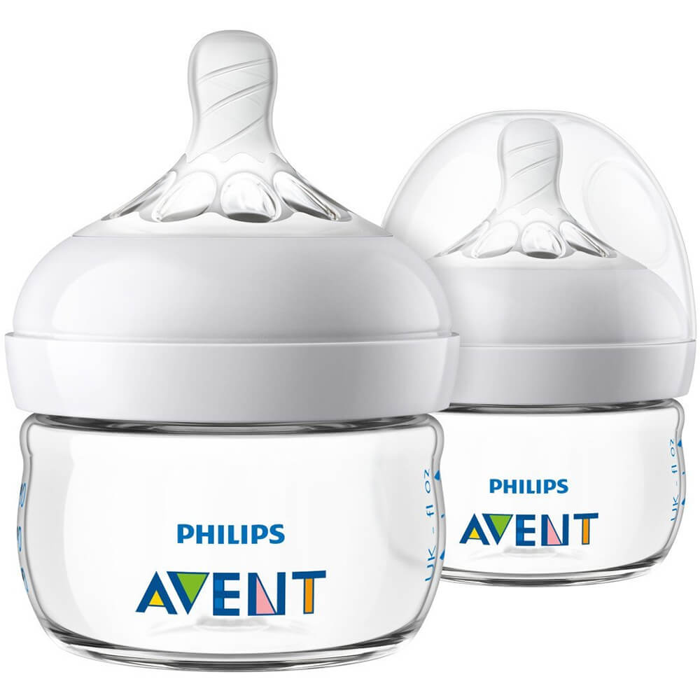 Avent 2oz Natural Baby Bottle - 2 Pack