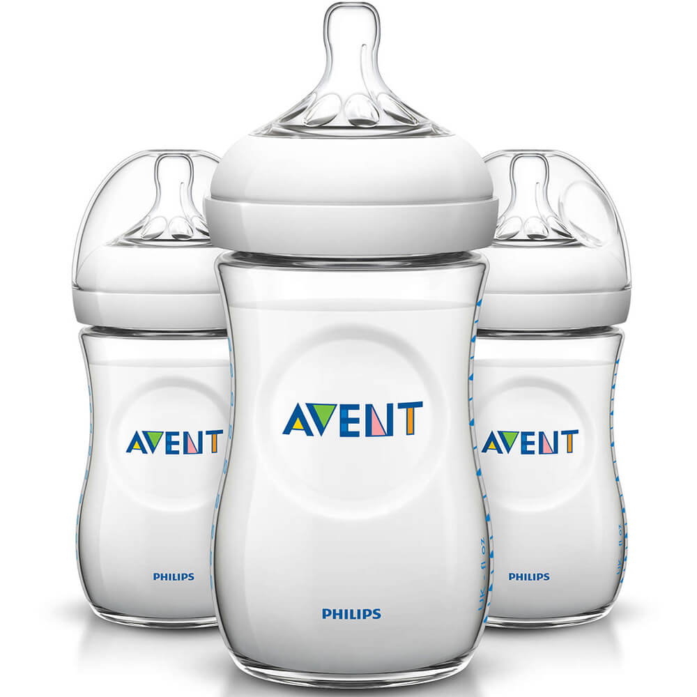 Avent 9oz Natural Baby Bottle - 3 Pack
