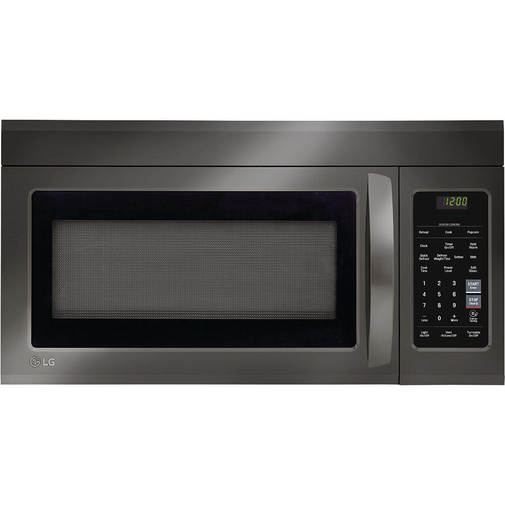 1.8 Cu. Ft. Black Stainless Over-the-Range Microwave