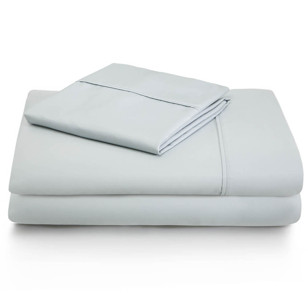 600 Thread Count Cotton Blend Sheets - Queen / Ash