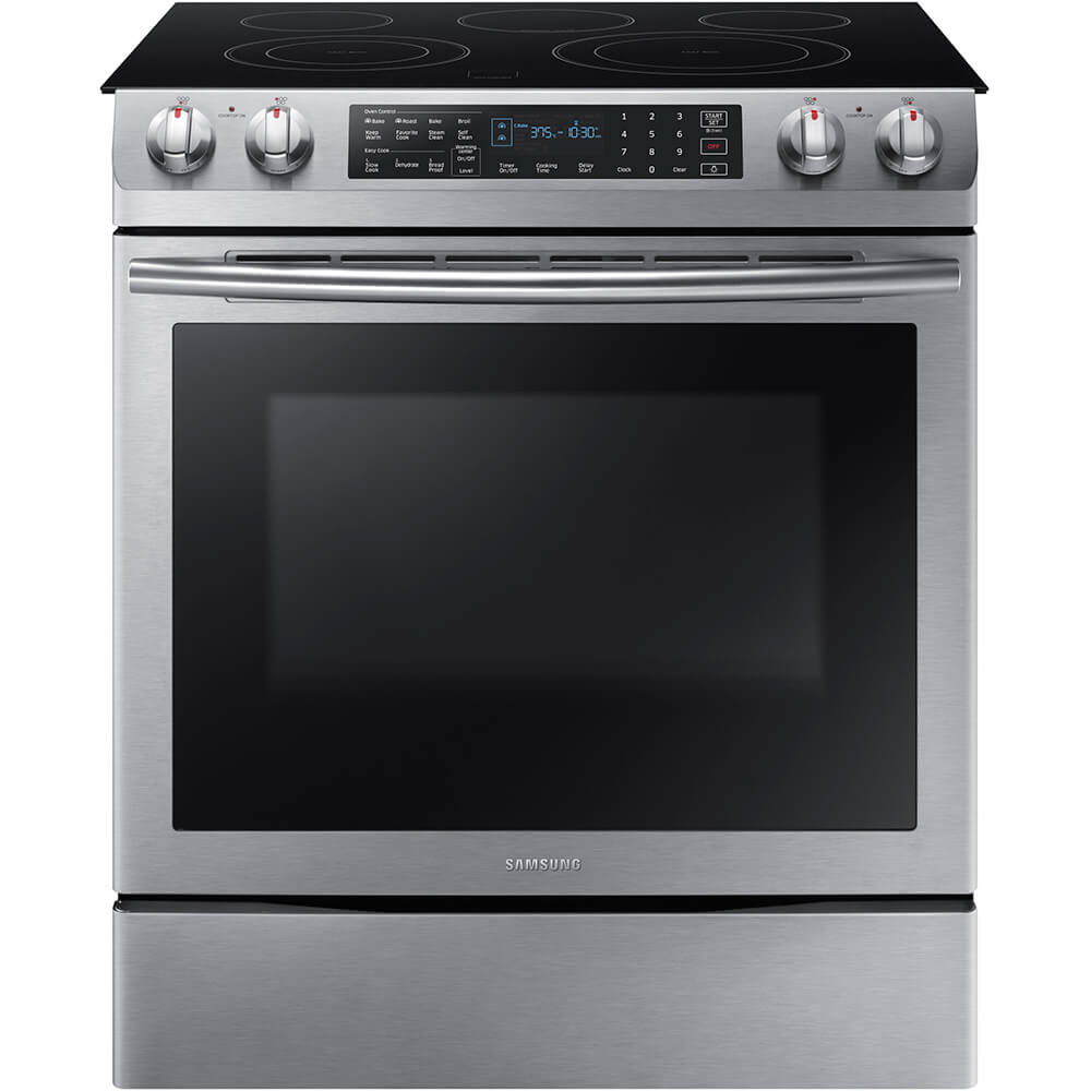 5.8 Cu. Ft. Stainless Electric Range