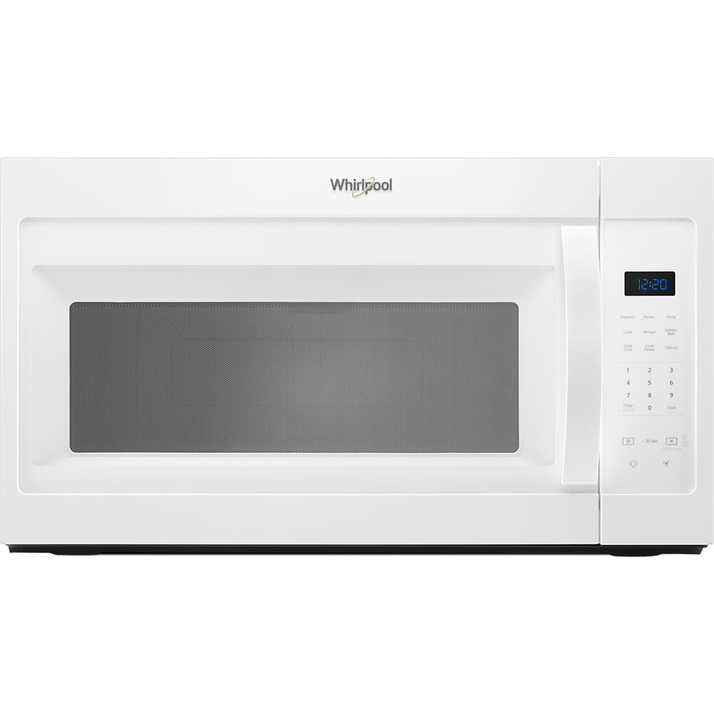 1.7 Cu. Ft. White Over-the-Range Microwave