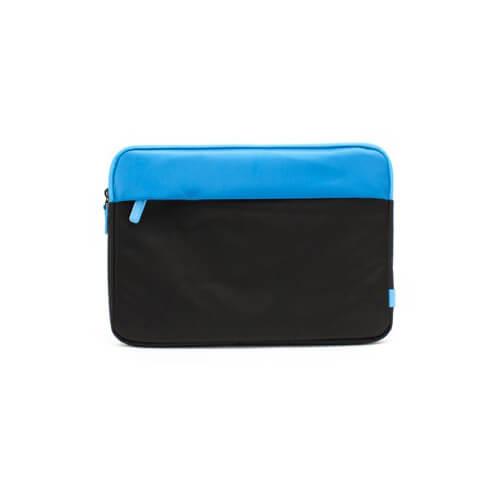 Padded Sport Sleeve for 13 inch Laptops - Black/Blue