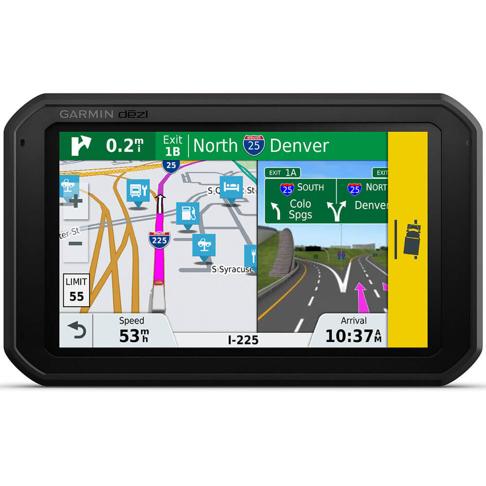 dezlCam 785 LMT-S 7 inch GPS for Trucks with Built-In Cam