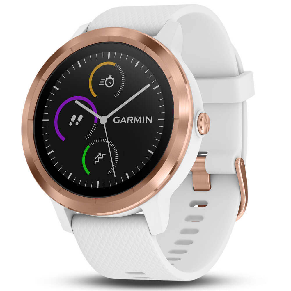 vívoactive 3 Smart Watch - White/Rose Gold