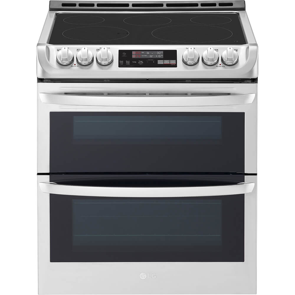 7.3 Cu. Ft. Stainless Double Oven Electric Range