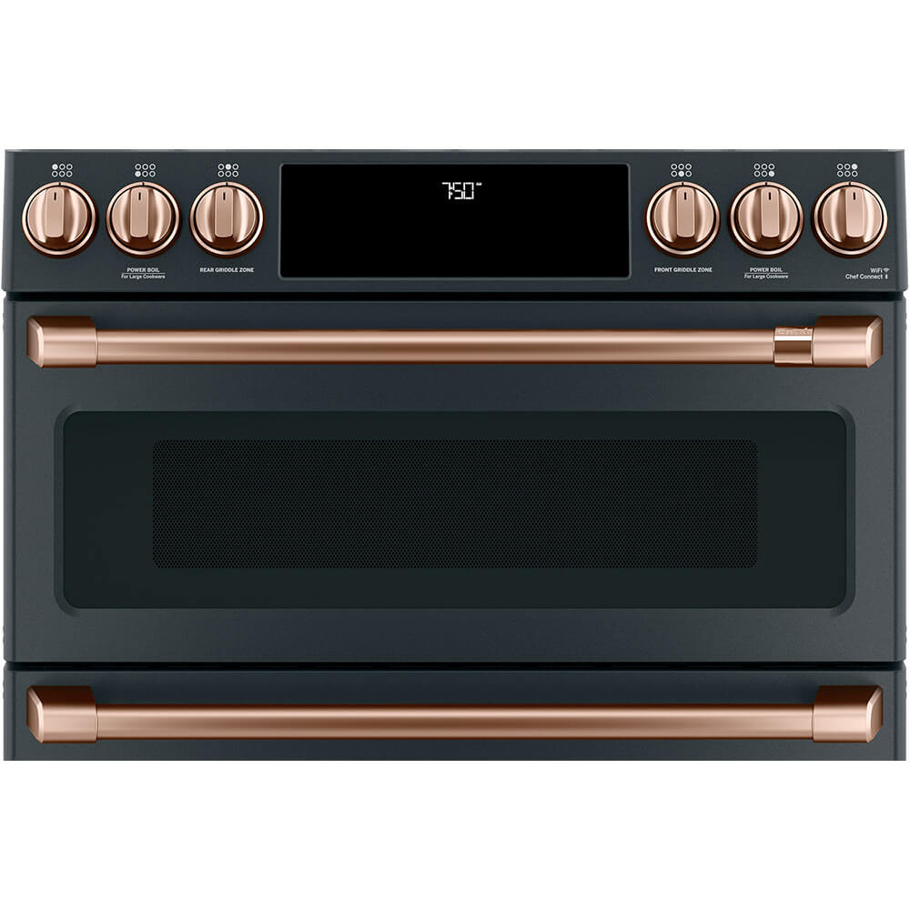 Copper Front Control Gas Range Handle and Knob Set