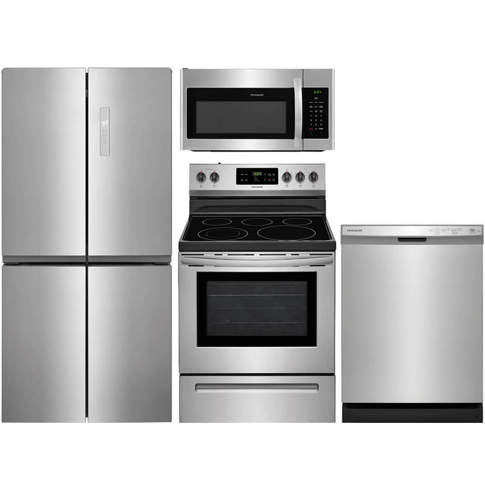 4 Pc. Stainless 4 Door Kitchen Package