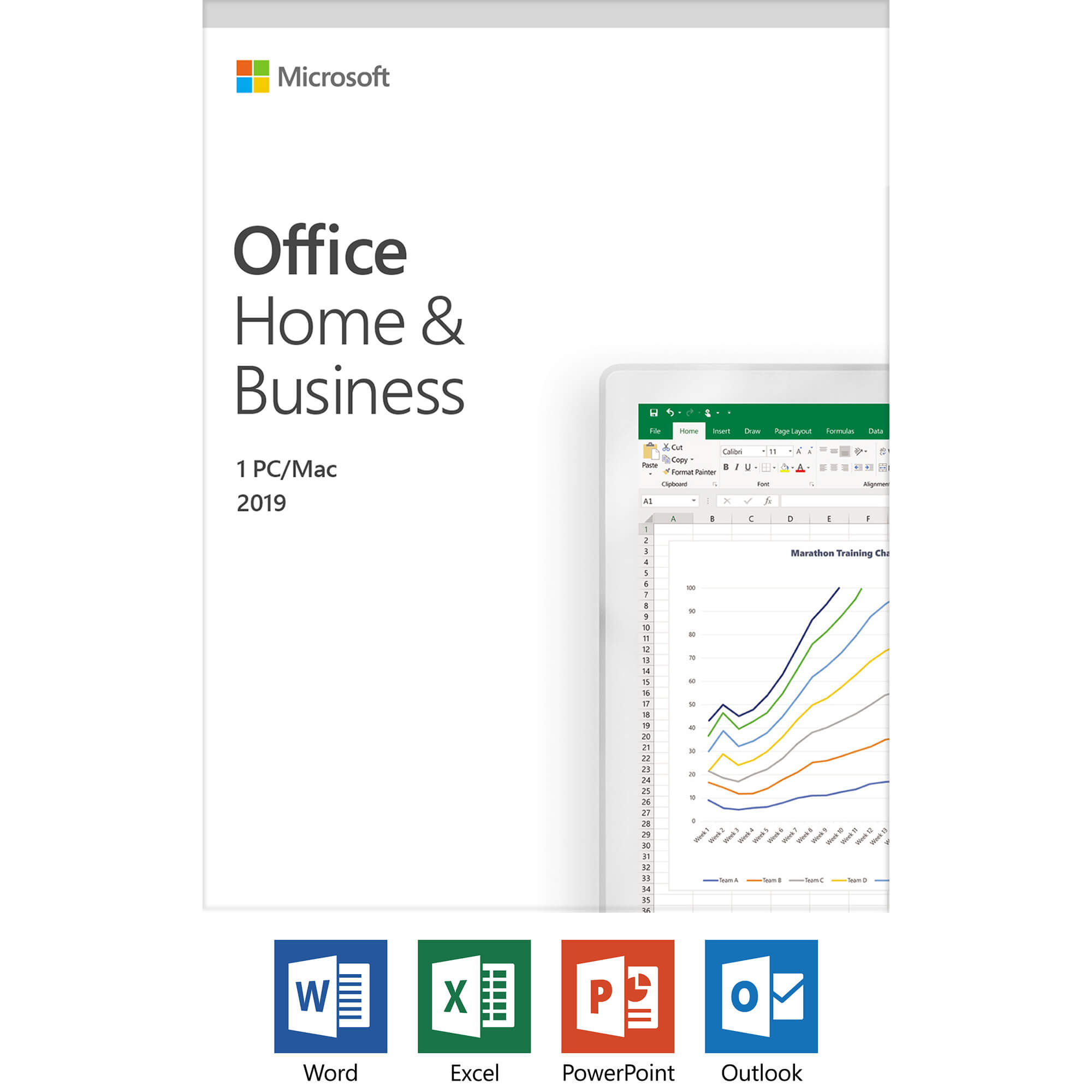 Microsoft T5D-03203 Office Home & Business 2019